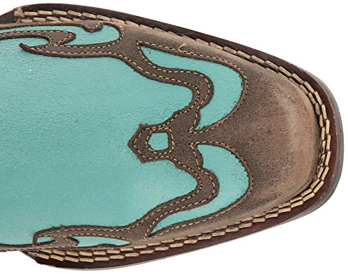 Women's DRD0211 Western Aqua Blue Turquoise Boot Durango d5AEqHnxwd