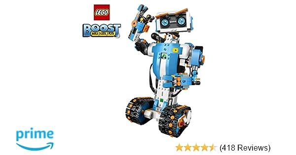 a10e20e6d6e45 Amazon.com  LEGO Boost Creative Toolbox 17101 Fun Robot Building Set and  Educational Coding Kit for Kids