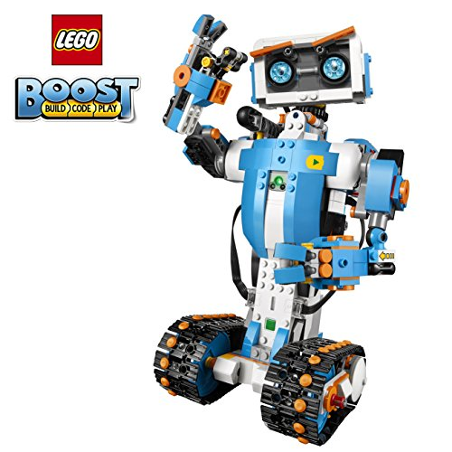 LEGO Boost Creative Toolbox 17101 Fun Robot Building Set and Educational Coding Kit for Kids, Award-Winning STEM Learning Toy (847 Pieces)]()