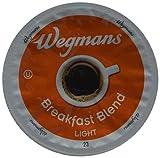 Wegman's Breakfast Blend Light Roast Single Serve K-Cups Case of 72