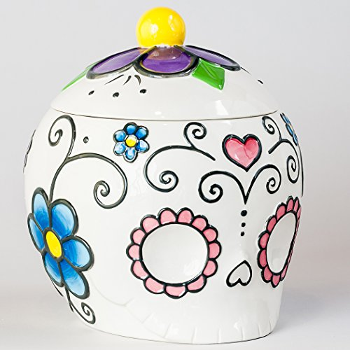 day of the dead cookie jar - 6