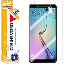 Samsung Galaxy A8+ Screen Protector (2018)[2-Pack], DeltaShield BodyArmor Full Coverage Back + Front Screen Protector for Samsung Galaxy A8+ Military-Grade Clear HD Anti-Bubble Film