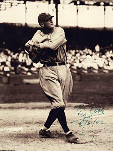 Ty Cobb Signed Autographed Detroit Tigers 8 X 10 Reprint Photo - Beautiful ! - Ty Cobb Autograph