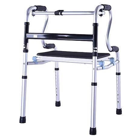 ZYDSD Andador Ancianos Walker Wheelless Walking Stand Marco ...