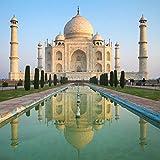 Taj Mahal - India - Architecture - 24x24 Matte Poster Print Wall Art