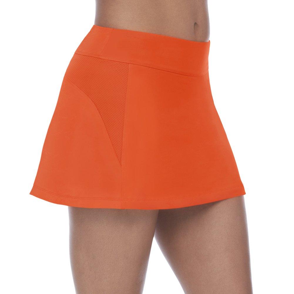 Fila Women's Core A-Line Skort, Team Orange, XS