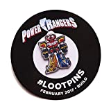 Power Ranger February 2017 Build Lootpins Pin