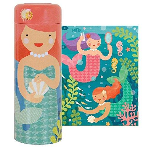 l Mermaids 64 Piece Tin Puzzle (Make Petit Fours)