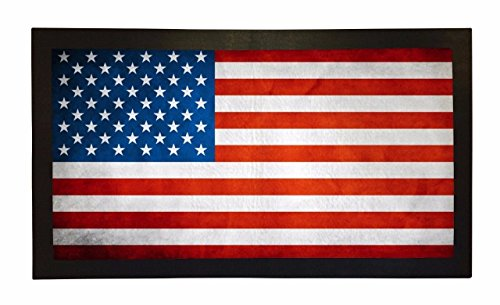 Rubber Bar Mat Bar Runner American USA Flag Spill Mat Gif...