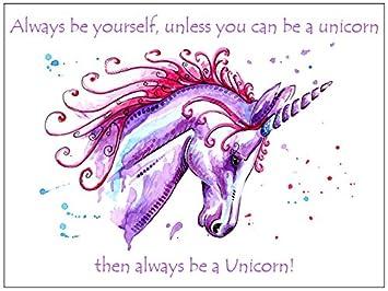 Unicorn Fridge Magnet Birthday Gift Stocking Filler Gifts