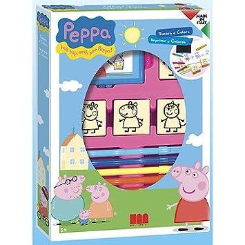 Peppa Pig 1612 Multi-Print Stamp Set 4-Piece