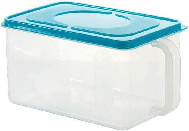 LIYANCMX Caja de Almacenamiento de Granos de Cocina Recipiente de Almacenamiento de Alimentos Sello plástico Conjunto de 2 Piezas Recipientes: Amazon.es: Hogar