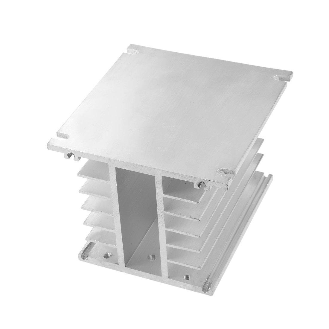 uxcell/® Aluminum Heat Sink SSR Dissipation for Three Phase Solid State Relay 10A-100A