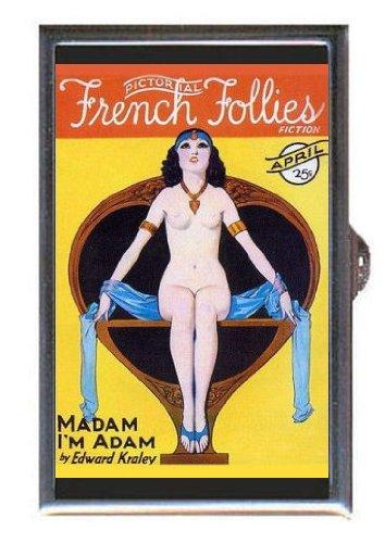 French Follies 1931 Madam I'm Adam Guitar Pick or Pill Box USA ()