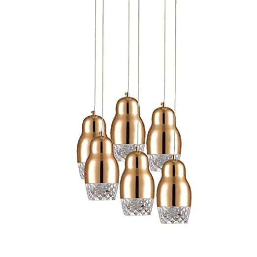 Led Modern Decke Hangelampe Restaurant Kristall Pendelleuchte