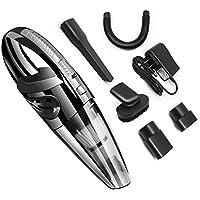 Vaughenda Vacuum Cleaner, Handheld Cordless Car Vacuum Cleaner, Portable Silent Pet Hair Vacuum, 120w 3200pa Rechargeable Auto Dry Wet Vacuum for Home, Car