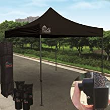 Outlet Tags Canopy - 10ftX10ft Pop-Up Tent for Vendors, BBQ, Sun Shelter, Sports Teams, Outdoor Events