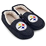 NFL Pittsburgh Steelers Loafer Slippers [Men's Size 11]