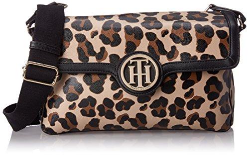 Tommy Hilfiger Leopard Saddle Hobo Bag - Brown/Multi - On...