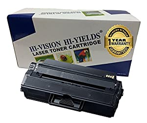 HI-VISION ® Compatible Samsung MLT-D115L 3K High Yield Toner Cartridge Replacement for Samsung Xpress SL-M2620, SL-2820, SL-M2670, SL-2870, SL-M2870FW, SL-ML2820DW, SL-M2820, SL-M2870