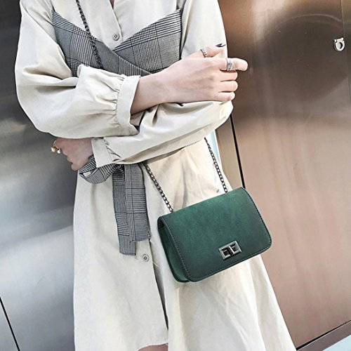 main solide Sac mode femmes épaule style Vert crossbody bandoulière sac les zycShang Femmes fille à à Sac givré r4YO4q1w