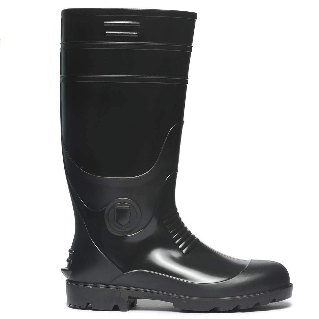 Paragon Men's Black Gum Boots (Size-10