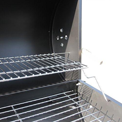 BBQ-Toro Barbecue au charbon sur roulettes avec couvercle