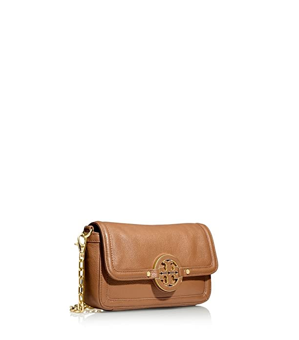 Amazon.com: Tory Burch Amanda Mini Crossbody Royal/Tan: Shoes