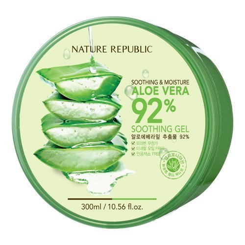 République Natural Aloe Vera Gel, 300ml, 10,56 Fluid Ounce