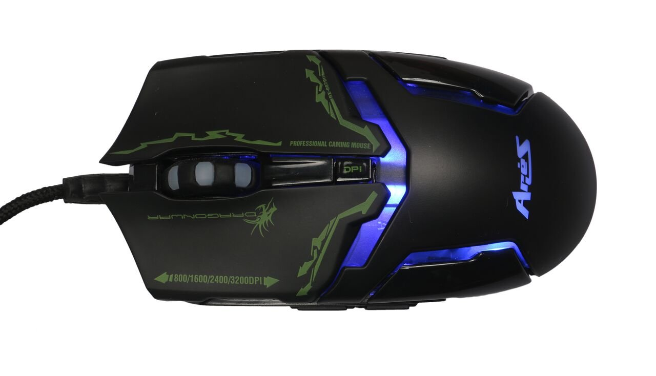 ec243a10972 Amazon.in: Buy Dragonwar ELE-G10 Aries Blue Sensor Gaming Mouse with Macro  Function (Black) Online at Low Prices in India   Dragonwar Reviews & Ratings