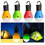 Big Princess 2 Pack Portable LED Lantern Tent Light Bulb...