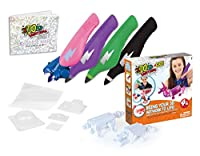 IDO3D GO 4 pen set (pen color Purple, Green, White and Pink)