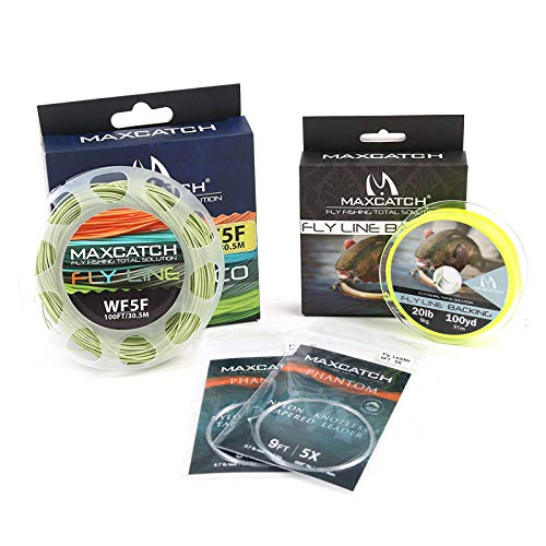 M MAXIMUMCATCH Maxcatch Fly Line Combo Pack: