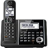 Panasonic KXTGF340B Dect 1-Handset Landline Telephone (Certified Refurbished)