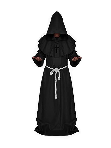 Amazon.com: sorrica Unisex adultos Medieval Monje traje de ...