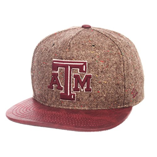 - Zephyr NCAA Texas A&M Aggies Men's Legend Heritage Collection Hat, Adjustable, Tweed