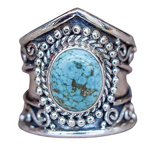 Ring for Women,Chaofanjiancai 1PC Boho Jewelry Diamond Wedding Band Rings Opal Personalized Ring