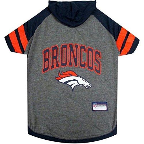 Denver Broncos Pet Hoodie T-Shirt - Medium by Pet Care Preferred