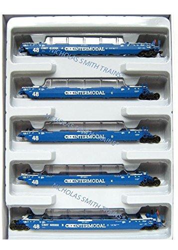 Athearn HO RTR Maxi III Well Car CSX #620302 (5)