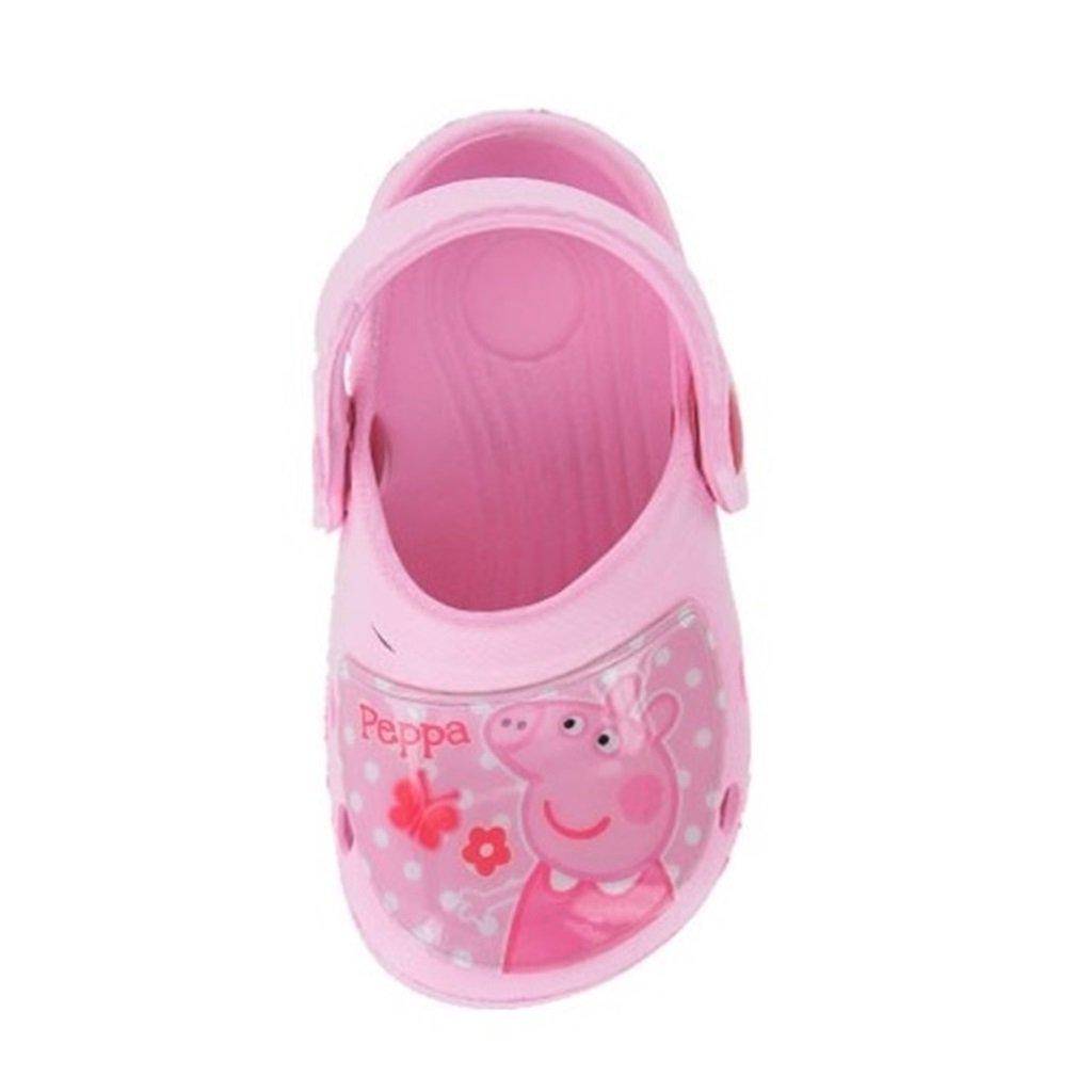 76473becc9ade8 Peppa Pig Wonder Eva Girls Clogs Crocs Sandals - Pink (Sizes 5