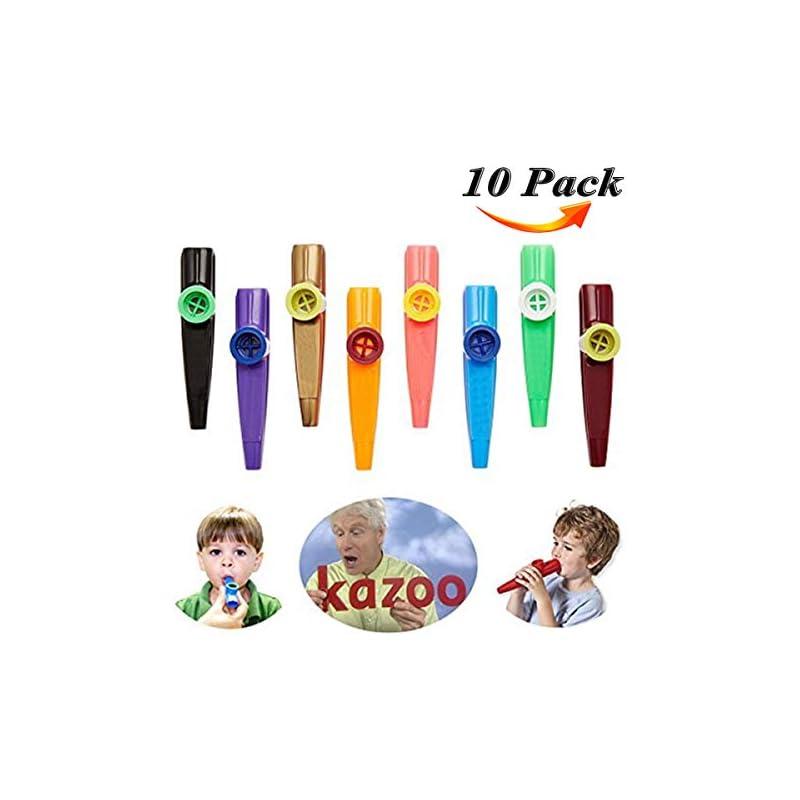 Kazoo - HoFire 10 Pcs Assorted Color Pla