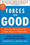 Forces for Good, Leslie R. Crutchfield and Heather McLeod Grant, 1118118804