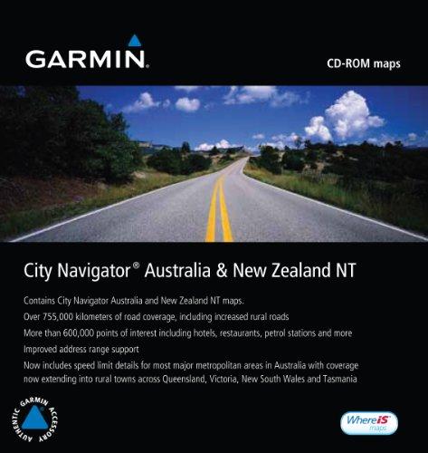 Software City Navigator Mapsource (Garmin City Navigator 2010 Australia/New Zealand Map CD-ROM (Windows or Mac))