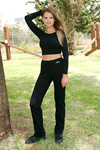 Yoga Pants For Women Best Black Leggings straight leg 32″ Inseam Length Regular & Plus Size (3XL)