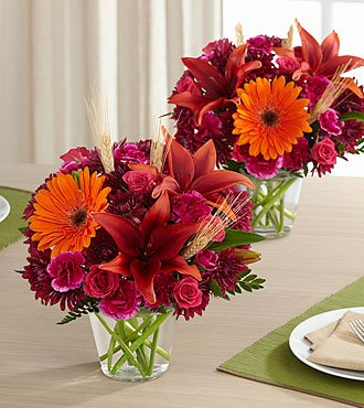 Bountiful Rose Bouquet - Bountiful Garden Duo - Fresh Flowers Hand Delivered in Albuquerque Area