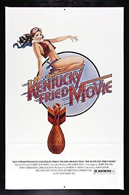 KENTUCKY FRIED MOVIE * CineMasterpieces ORIGINAL MOVIE POSTER CHICKEN LEG 1977