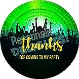 hiusan Disco Dance Party Sticker Lables Christmas Address Labels Envelop Seals Party Favor Tags Lable