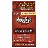 mega red joint care - MegaRed 350mg Omega-3 Krill Oil, 120 softgels