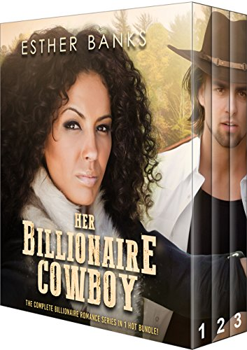 Her Billionaire Cowboy: The Complete BWWM Billionaire Cowboy Romance Trilogy (BWWM Romance Book -