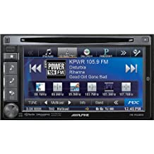 "Alpine IVE-W535-1HD 6.1"" Double Din In-Dash DVD Touchscreen Bluetooth Car Stereo Radio with Rear View Camera included"